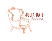 Julia Date Design Branding