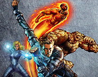Marvel_Fantastic 4 / Tribute Art