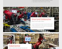 Rethink Robotics - Website Redesign