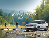 #I GO FOR EXPLORATION Presented by Ford x Agoda