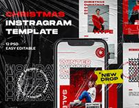 Christmas Hype Instagram Template