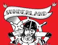 Sunderland Roller Derby - Visual Identity