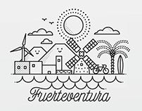 Fuerteventura animated postcard