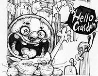 《凡尔纳的假期》故事插画