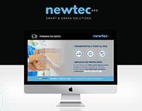 Newtec • Diseño de plantillas y redes sociales