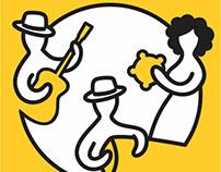 Logo proposal for a museum dedicated to Brazilian music