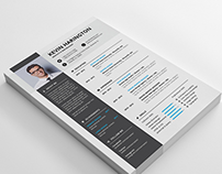 30+ Free Creative Resume Templates for Adobe Indesign