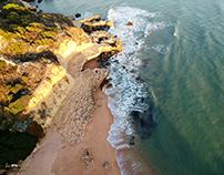 Praia dos Aveiros - Albufeira - Dji Spark