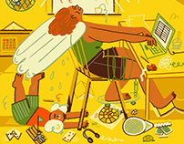 Summer holidays & Corona – For NYT Parenting
