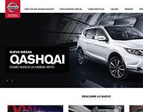Nissan Qashqai | Sitio Web