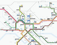 schemat sieci tramwajowej