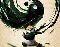 《功夫熊猫3》中国定制版海报