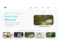 photography website. Promote your business,