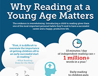 Why Reading at a Young Age Matters — Infographic
