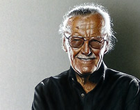 Drawing Stan Lee