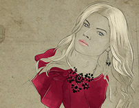 Fashion Illustration - Maryna Linchuk