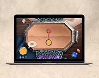Card Game UI Design