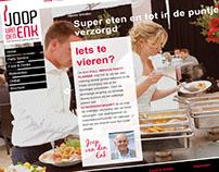 Huisstijl en website Joop van den Enk