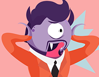 Toque el timbre / Character design