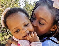Carla's Daughter turns 1 year baby photoshoot