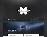 X-Gamer Energy Website