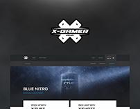 X-Gamer Energy Website