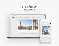 Spain.info - Rediseño Web