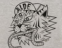 Pinzat. Camiseta Ride.