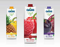 Oasis Juice Package Redesign