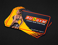 Bussines card for gym