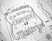 Hand Lettering Experimentations