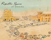 Yerevan Sketchbook sketches