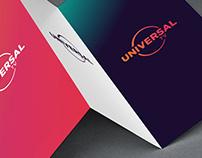 Universal Channel Rebrand: Design Development