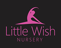 Little Wish Nursery Logo Design
