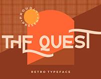 TH QUEST RETRO TYPEFACE - FREE FONT