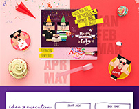 Designed Calendar & Miniature .