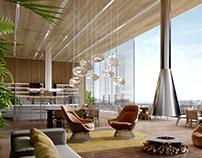 Mirage Hotel: terraces