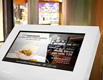 Banner restaurante Hotel Carrís Marineda