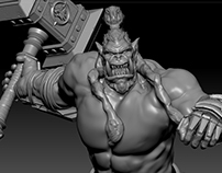 "World of Warcraft Thrall 3DModel ""TEMP"""
