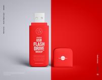 FreeUSB Flash Drive Mockup