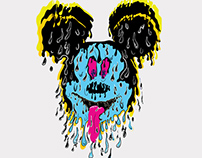 Melting Trippy Mickey