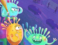 Children's book illustrations MIX