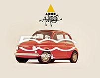 Bronze ADCI Awards 16 - Fiat 500 Enjoy The #CultSharing