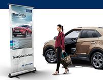 Hyundai Standing Banner Process