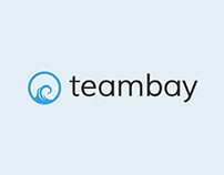 Teambay brand design