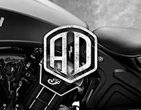 A&D Motorcycles Logo & UI