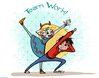 Star Vs the forces of Evil! Test 2013