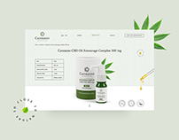 Cannateo - CBD Oil Web Design