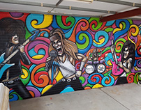 Ormsby Guitars Mural