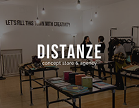 DISTANZE | Logo & Identity Project